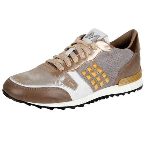 Maripe Sneaker in taupe-gold