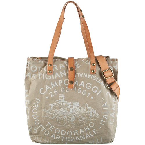 Campomaggi Shopper Canvas Manico L