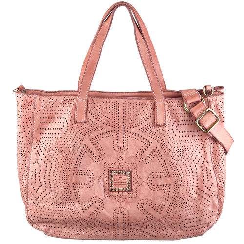 Campomaggi Shopper perforiert rose