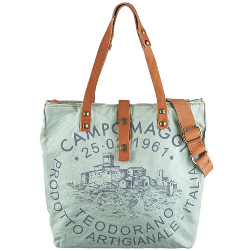 Campomaggi Shopper Manico L mint