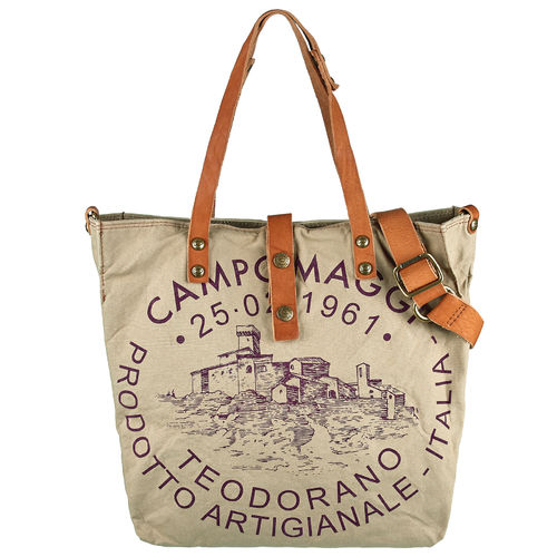 Campomaggi Shopper Canvas